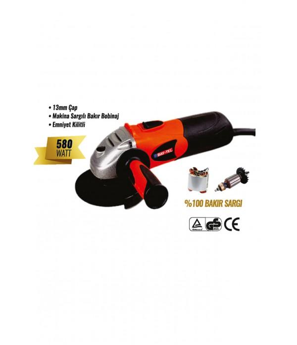 Avuç taşlama makinesi 115 mm 580 watt