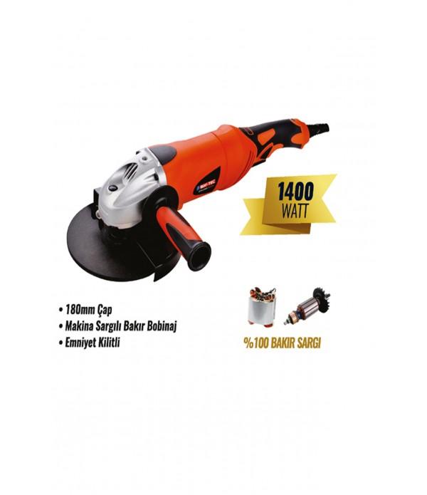 Avuç taşlama makinesi 180 mm 1400 watt