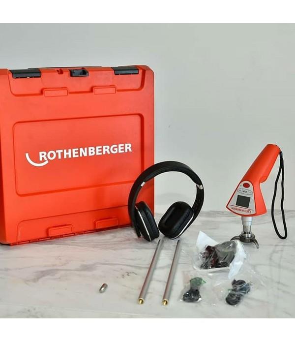 Rothenberger ROLEAK Aqua 3 Plus Akustik Dinleme Su Kaçak Tespit Cihazı