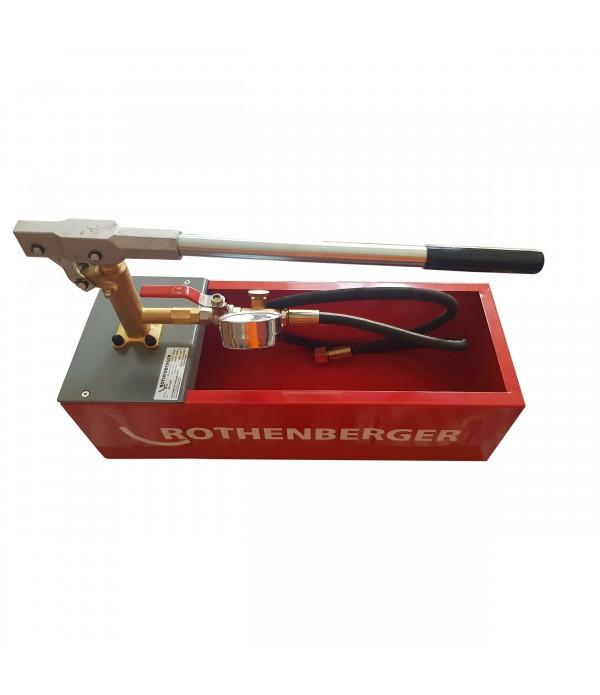 Test Pompası Rothenberger RP 50 ECO Manuel
