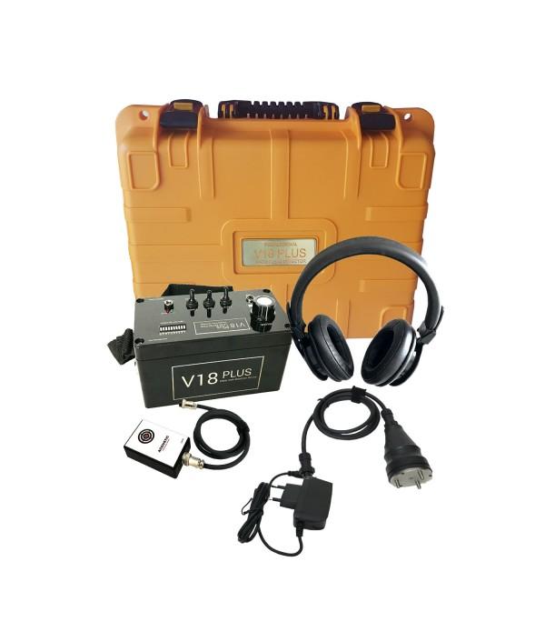 V18 Plus Akustik Dinleme Su Kaçak Tespit Cihazı