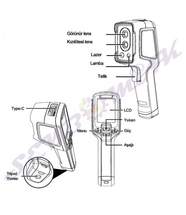Termal Kamera Rothenberger Roscan 2000  (Sıcaklık ve Su Kaçağı Tespit Cihazı)