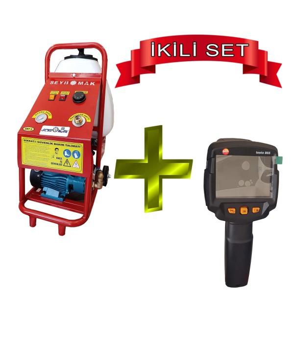 Termal Kamera Testo-865 ve Pompalı Petek temizlem...