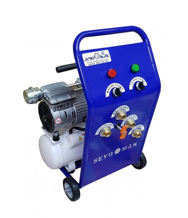 Havalı Petek Temizleme Makinesi Çift Yönlü-Darbeli Yıkama