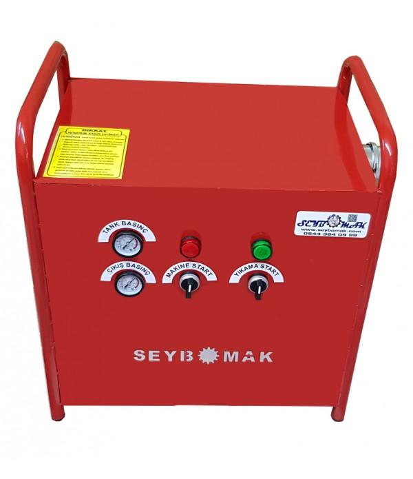 Havalı Petek Temizleme Makinesi Çift Yönlü-Darbeli Yıkama (Mini)