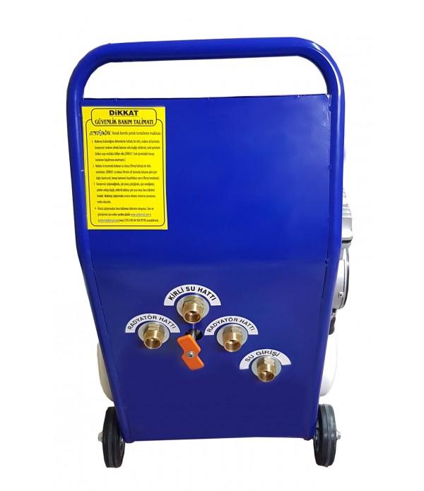 Havalı Petek Temizleme Makinesi Çift Yönlü-Darbeli Yıkama (Parliament)