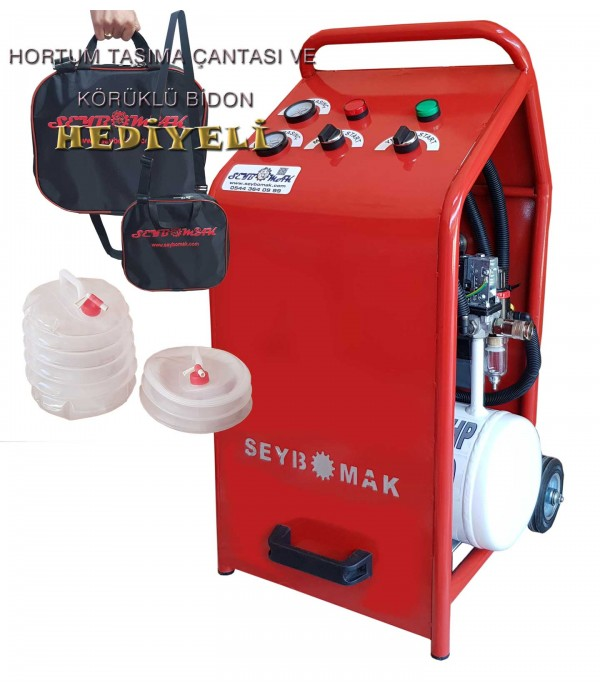 Havalı Petek Temizleme Makinesi Çift Yönlü-Darbeli Yıkama (Aksesuarsız)