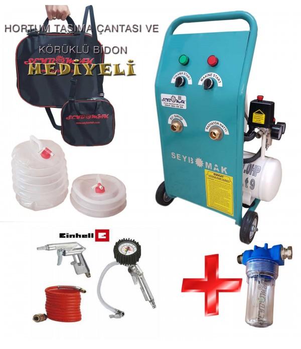 Havalı Petek Temizleme Makinesi+Kompresör seti+K...