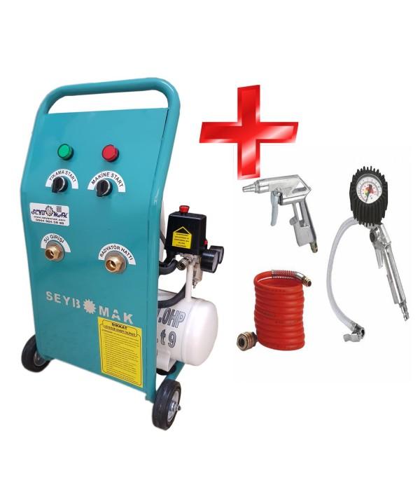 Havalı Klima, Petek Temizleme Makinesi+kompresör...