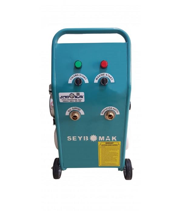 Havalı Klima, Petek Temizleme Makinesi+kompresör seti Tek Yönlü Darbeli yıkama
