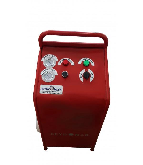 Havalı Petek Temizleme Makinesi Darbeli yıkama Çift Yönlü (full Set)